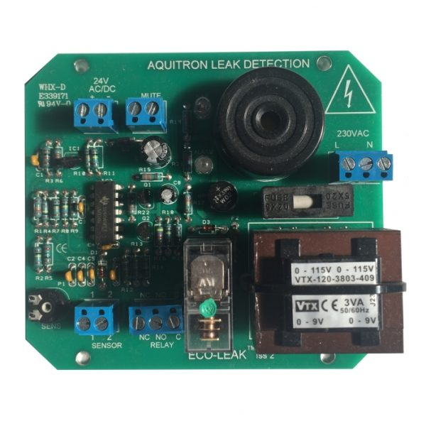 Replacement circuit board for the Eco-Leak single zone water detection panel
